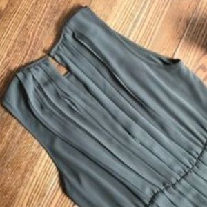 Michael Kors olive green dress